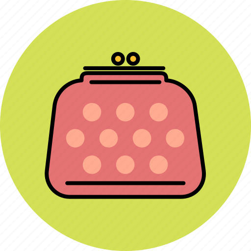 coin, finance, money, purse icon