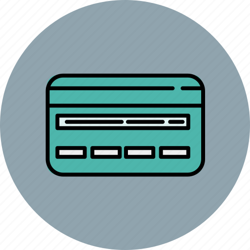 back, card, credit, finance, payment icon