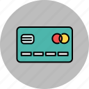 card, credit, finance, front, payment icon