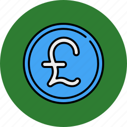 currency, english, finance, money, payment, pound icon
