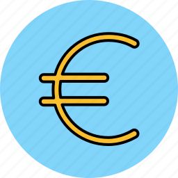 currency, euro, finance, money, payment icon