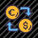 business, coin, dollar, euro, exchange, finance, financial, money