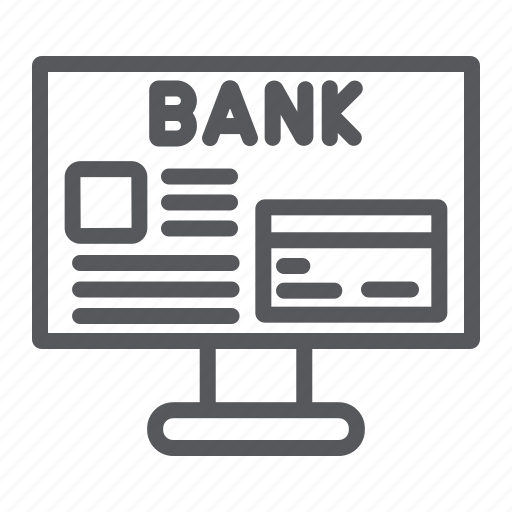 banking, finance, internet, online, payment icon