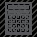 accounting, calculate, calculator, mathematics, office icon