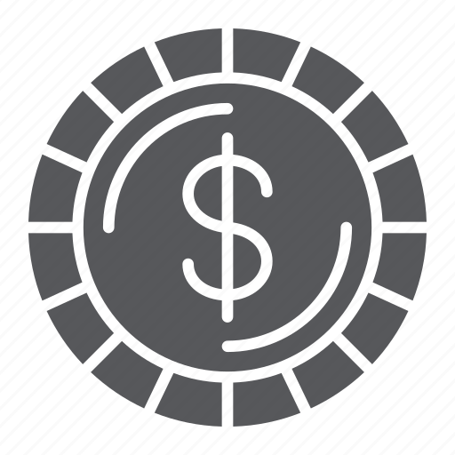Cent, coin, dollar, finance, money, sign icon - Download on Iconfinder