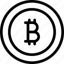 alternative, bitcoin, crypro, curency, money, technology icon