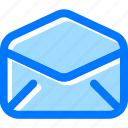email, envelop, letter, mail icon