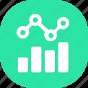analytics, chart, graph