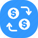 cash, currency, exchange, money