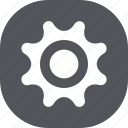 cog, gear, options, setting icon