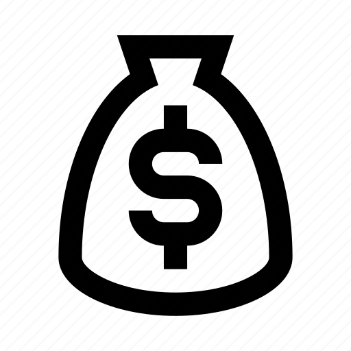 bag, cash, coin, currency, finance, money icon