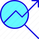 chart, finance, graph, growth, marketing, report, statistics icon