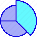 analysis, chart, diagram, finance, graph, pie chart, presentation icon