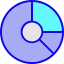 analytics, chart, diagram, finance, graph, pie chart, statistics icon