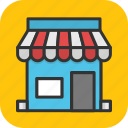 kiosk, market, shop, shopping, store icon