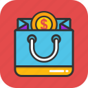 bag, buy, sale, shopping, shopping bag icon
