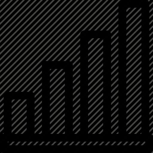 analytics, chart, finance, growth, statistic icon