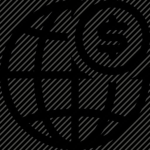 economy, finance, global, world, world bank icon