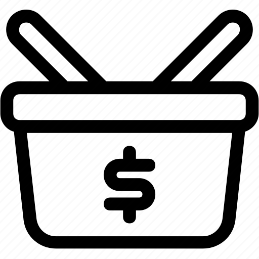 ecommerce, finance, shopping, shopping bag, shopping cart icon