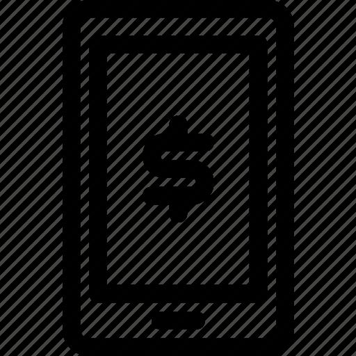 app, business, finance, finance app, smartphone icon
