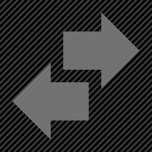 arrows shuffle, multimedia option, shuffle, shuffle option, two arrows icon