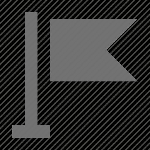 destination flag, ensign, flag, location flag, map flag icon