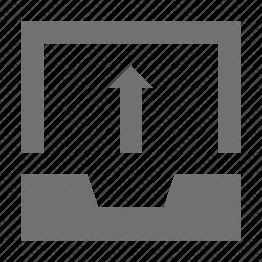 arrow, file upload, up arrow, upload button, uploading icon