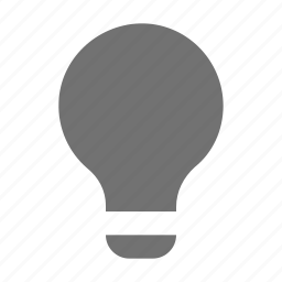 bulb, creativity, electric bulb, idea, light icon
