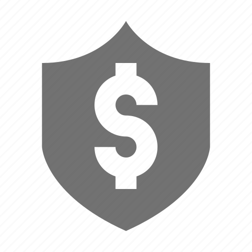 Dollar Shield Dollar Sign European Currency Money Protection