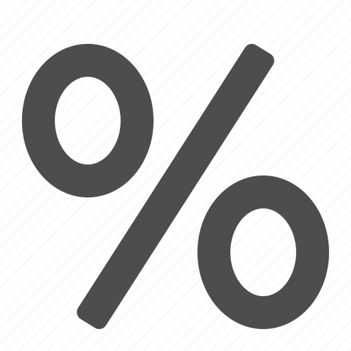 discount, finance, financial, interest, money, percentage sign, shopping icon