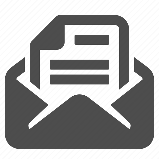 bill, document, email, envelope, letter, mail, taxes icon
