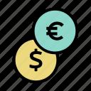 financial, finance, money, dollar, cash, coin, euro