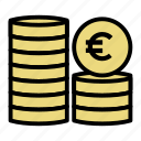cash, coin, euro, finance, financial, money