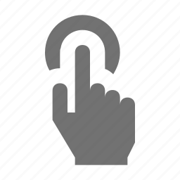 click, hand gesture, hand swipe, onclick, swap icon