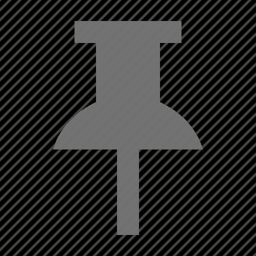 noticeboard pin, pin, push pin, tack, thumb tack icon