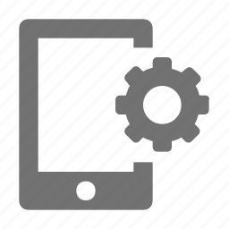 cogwheel, configuration, gear, mobile setting, setting icon