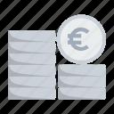 cash, coin, euro, finance, financial, money