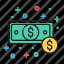 bills, cash, coin, dollar, finance, money