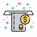 atm, bank, credit card, finance, money icon