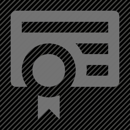 award, award badge, award ribbon, badge, badge card icon