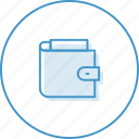 business, credit, finance, money, wallet icon