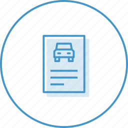 car, doc, transport icon