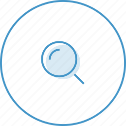 find, loupe, search icon