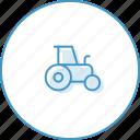 coutry, traktor, transport