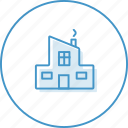building, house, zalog icon