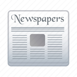 news, newspaper, paper, text icon