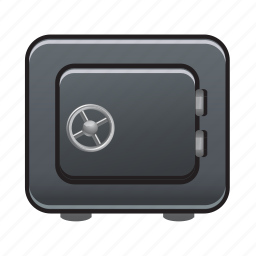 bank, lock, money, protection, safe, secure, security icon