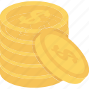 money, coins, savings icon, save money