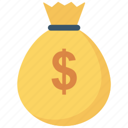 bag, cash, finance, loot, money, pay, payment icon icon