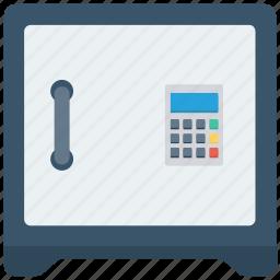bank, business, money, safe icon icon